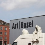 Public art project in Basel by Manfred Kielnhofer The ghost car ride by Manfred Kielnhofer on the trip to the contemporary art fairs Basel, ArtBasel, Liste, Scope, Volta, ... http://kielnhofer.com