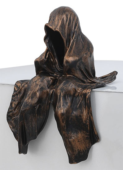 arsmundi skuptur mini waechter der zeit manfred kielnhofer bronze contemporary art arts design sculpture