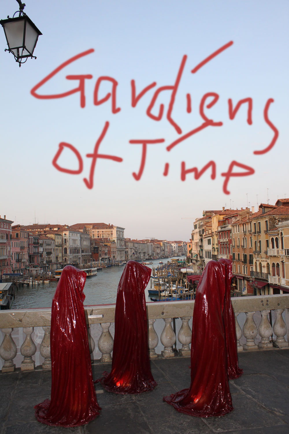 public art biennial festival show exhibition in Venice by Manfred Kielnhofer guardians of time contemporary art design architecture sculpture theatre 4161a